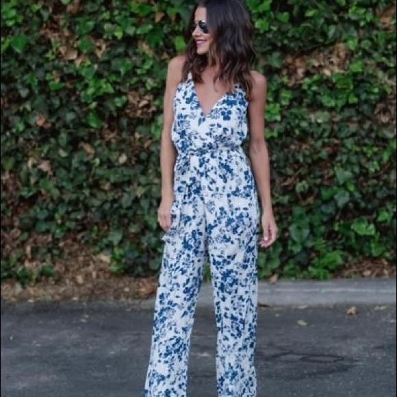 Vici Other - Vici - Giada Floral Jumpsuit